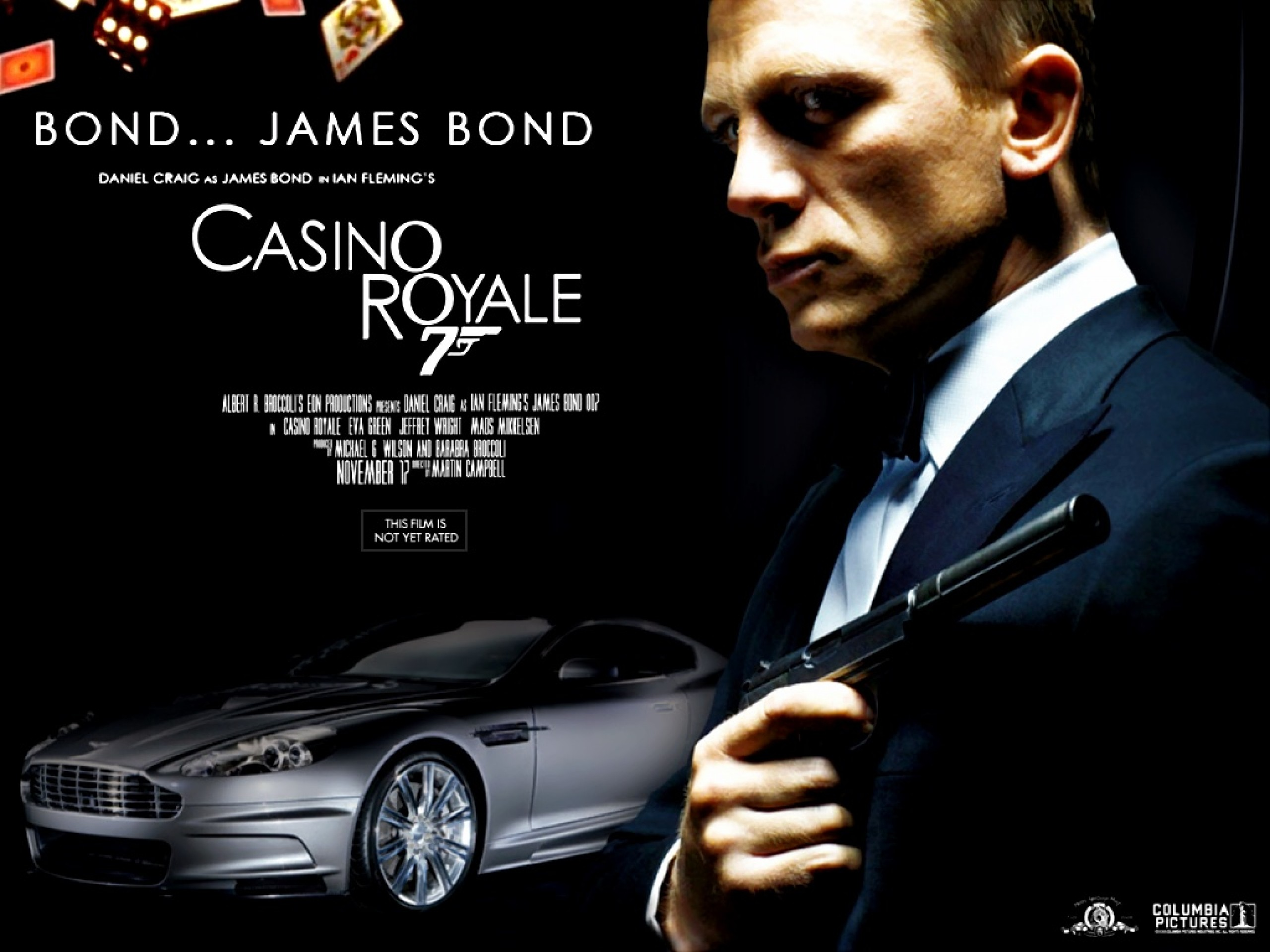 James bond casino royale theam song odds percentage sign outside casino