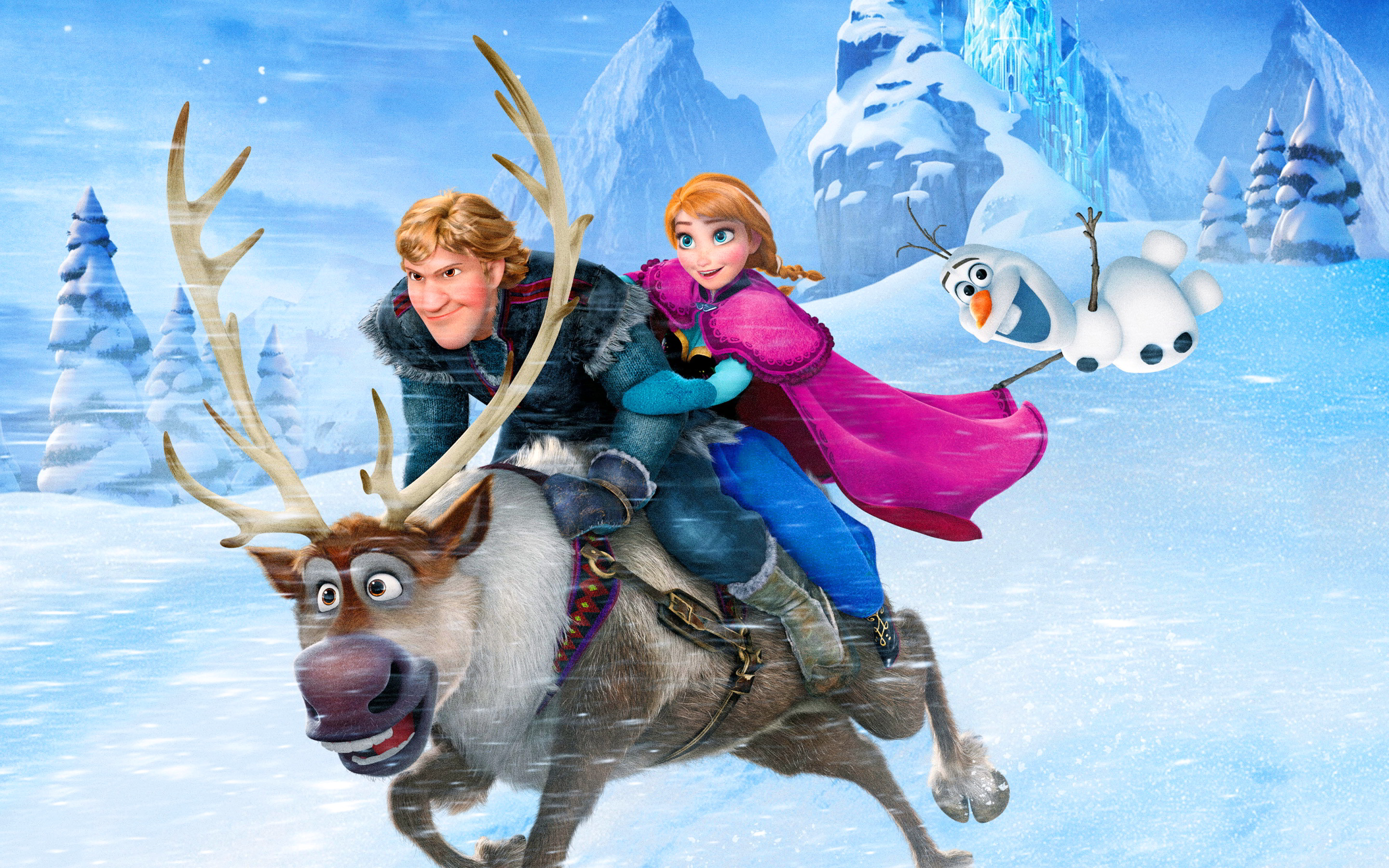 Frozen Theme Song | Movie Theme Songs & TV Soundtracks Disney Frozen Sven Wallpaper