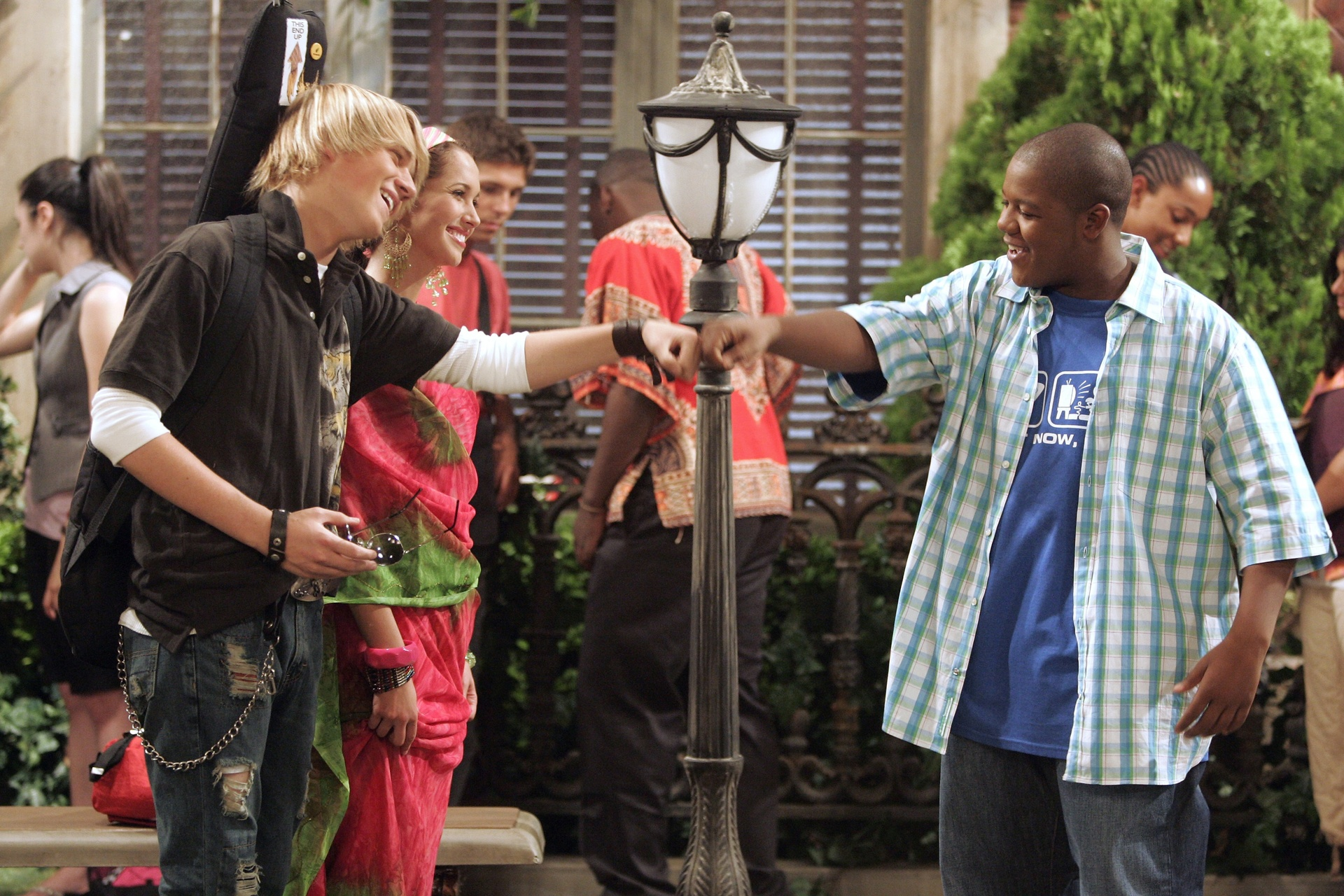 cory in the house cast