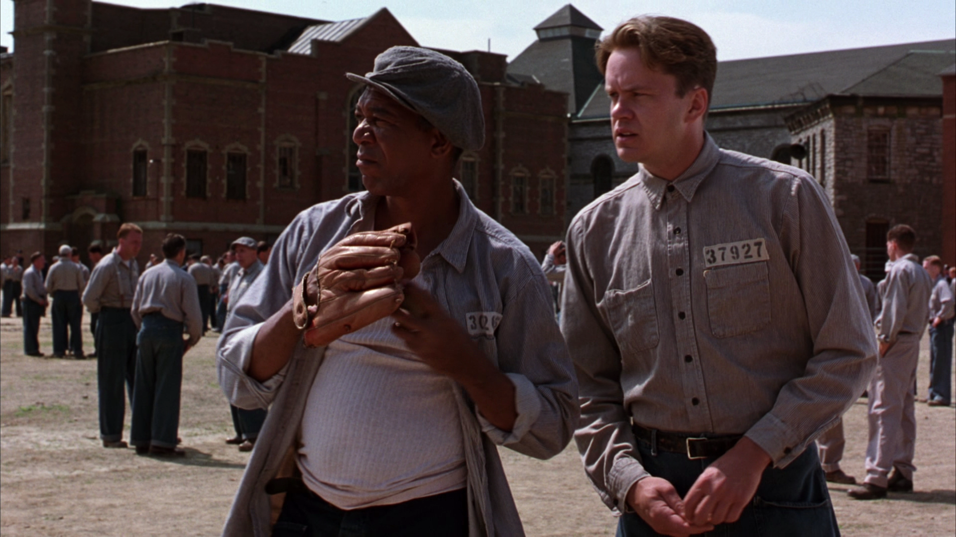 The suffering in the prison cells in the shawshank redemption